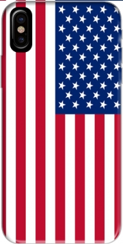 Flag United States Hoesje voor Iphone X / Iphone XS
