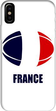 france Rugby Hoesje voor Iphone X / Iphone XS