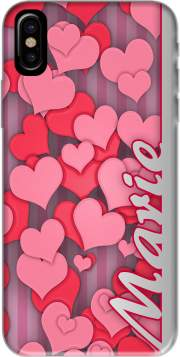 Heart Love - Marie Hoesje voor Iphone X / Iphone XS