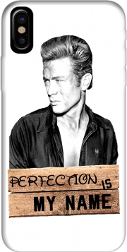 James Dean Perfection is my name Hoesje voor Iphone X / Iphone XS