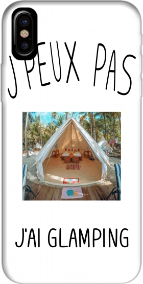 Je peux pas jai Glamping Hoesje voor Iphone X / Iphone XS