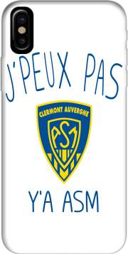 Je peux pas ya ASM - Rugby Clermont Auvergne Hoesje voor Iphone X / Iphone XS