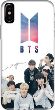 K-pop BTS Bangtan Boys Hoesje voor Iphone X / Iphone XS
