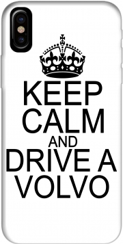 Keep Calm And Drive a Volvo Hoesje voor Iphone X / Iphone XS