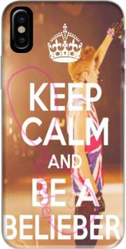 Keep Calm And Be a Belieber Hoesje voor Iphone X / Iphone XS