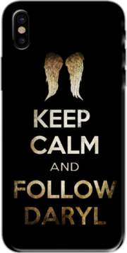 Keep Calm and Follow Daryl Hoesje voor Iphone X / Iphone XS