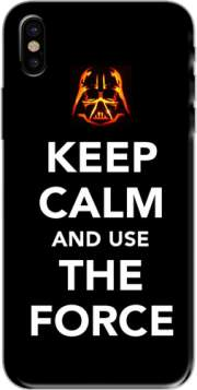 Keep Calm And Use the Force Hoesje voor Iphone X / Iphone XS