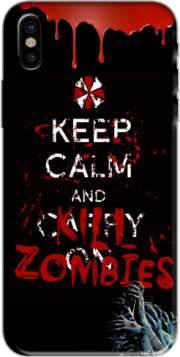 Keep Calm And Kill Zombies Hoesje voor Iphone X / Iphone XS