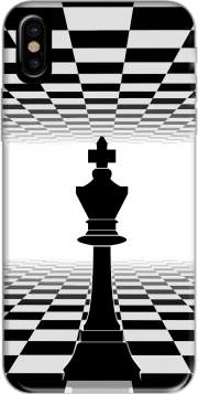King Chess Hoesje voor Iphone X / Iphone XS