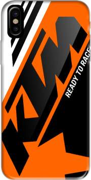 KTM Racing Orange And Black Hoesje voor Iphone X / Iphone XS