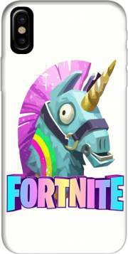 Unicorn video games Fortnite Hoesje voor Iphone X / Iphone XS