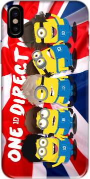 Minions mashup One Direction 1D Hoesje voor Iphone X / Iphone XS