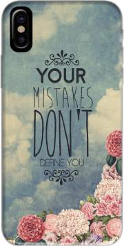 Mistakes Hoesje voor Iphone X / Iphone XS