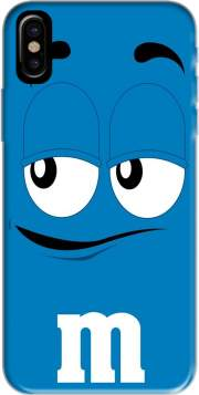M&M's Blue Hoesje voor Iphone X / Iphone XS