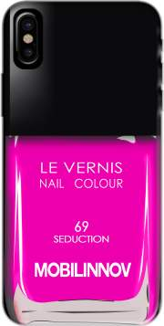 Nail Polish 69 Seduction Hoesje voor Iphone X / Iphone XS