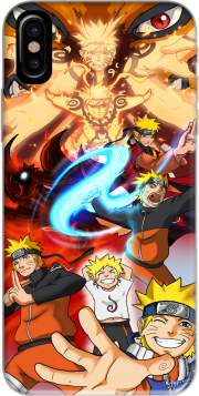 Naruto Evolution Hoesje voor Iphone X / Iphone XS