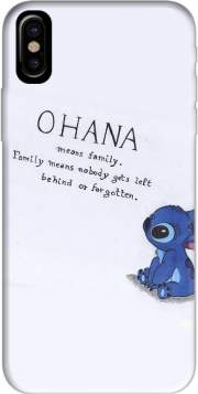 Ohana Means Family Hoesje voor Iphone X / Iphone XS