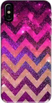 PARTY CHEVRON GALAXY  Hoesje voor Iphone X / Iphone XS