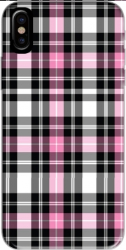 Pink Plaid Hoesje voor Iphone X / Iphone XS