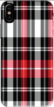 Red Plaid Hoesje voor Iphone X / Iphone XS