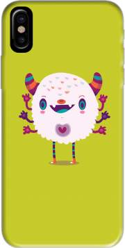 Puffy Monster Hoesje voor Iphone X / Iphone XS