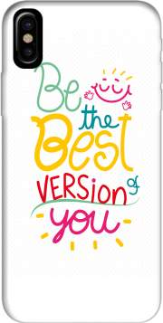 Quote : Be the best version of you Hoesje voor Iphone X / Iphone XS
