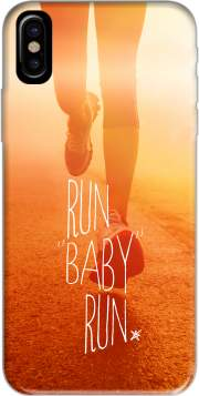 Run Baby Run Hoesje voor Iphone X / Iphone XS