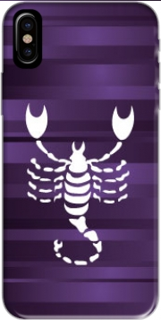 Scorpio - Sign of the zodiac Hoesje voor Iphone X / Iphone XS