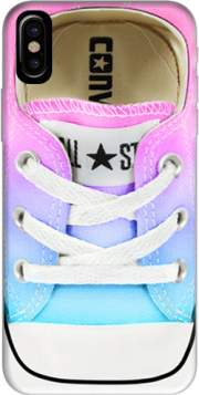 All Star Basket shoes rainbow Hoesje voor Iphone X / Iphone XS