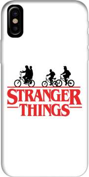 Stranger Things by bike Hoesje voor Iphone X / Iphone XS