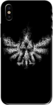 Triforce Smoke Hoesje voor Iphone X / Iphone XS