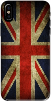 Old-looking British flag Hoesje voor Iphone X / Iphone XS