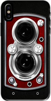 Vintage Camera Red Hoesje voor Iphone X / Iphone XS