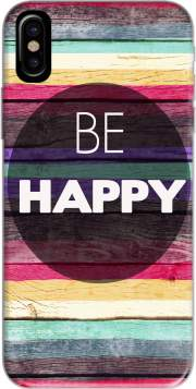 Be Happy Hoesje voor Iphone X / Iphone XS