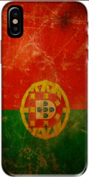 Vintage Flag Portugal Hoesje voor Iphone X / Iphone XS