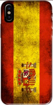 Flag Spain Vintage Hoesje voor Iphone X / Iphone XS