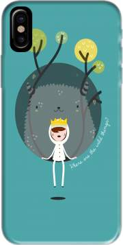 Where the wild things are Hoesje voor Iphone X / Iphone XS