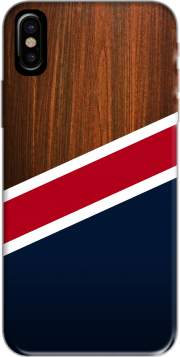 Wooden New England Hoesje voor Iphone X / Iphone XS