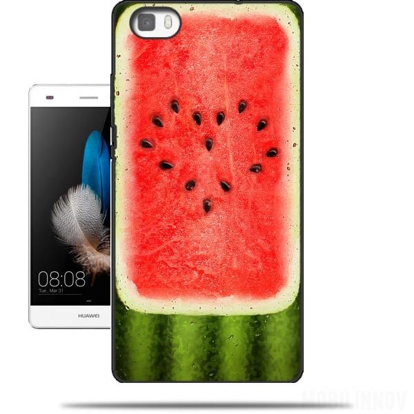 huawei p8 lite hoesje voorkant watermeloen