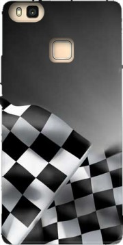Checkered Flags Hoesje voor Huawei P9 Lite