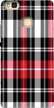 Red Plaid Hoesje voor Huawei P9 Lite