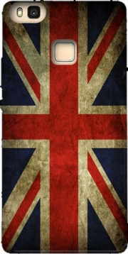 Old-looking British flag Hoesje voor Huawei P9 Lite