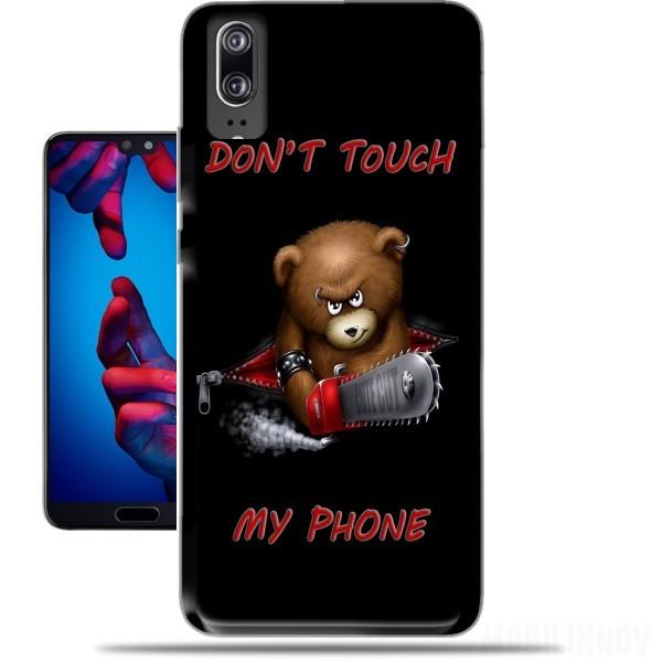 Ne Touchez Pas La Conception, Étui Rigide Pour Huawei Nova