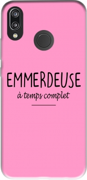Emmerdeuse a temps complet Huawei P20 Lite hoesje
