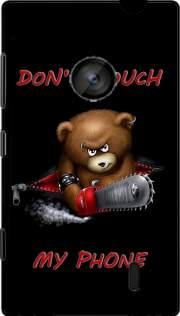 Don't touch my phone Hoesje voor Nokia Lumia 520