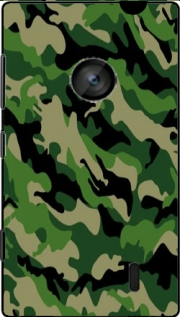 Green Military camouflage Hoesje voor Nokia Lumia 520