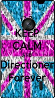 Keep Calm And Directioner forever Hoesje voor Nokia Lumia 520