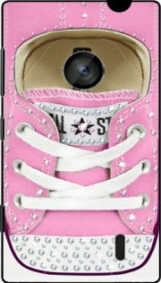 All Star Basket shoes Pink Diamonds Hoesje voor Nokia Lumia 520