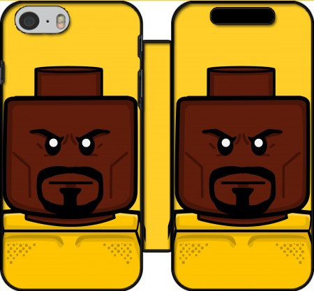Book Cover Hoesje Bricks Defenders Luke Cage voor Iphone 6 4.7