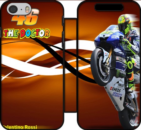 Book Cover Hoesje Fan de Yamaha En Feu VR46 Doctors voor Iphone 6 4.7